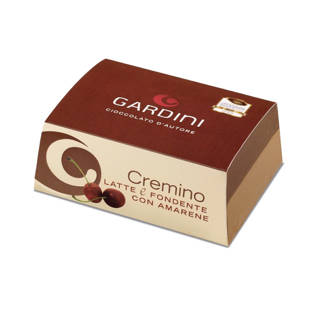Cremino Bigusto Latte E Fondente Con Amarene Gardini